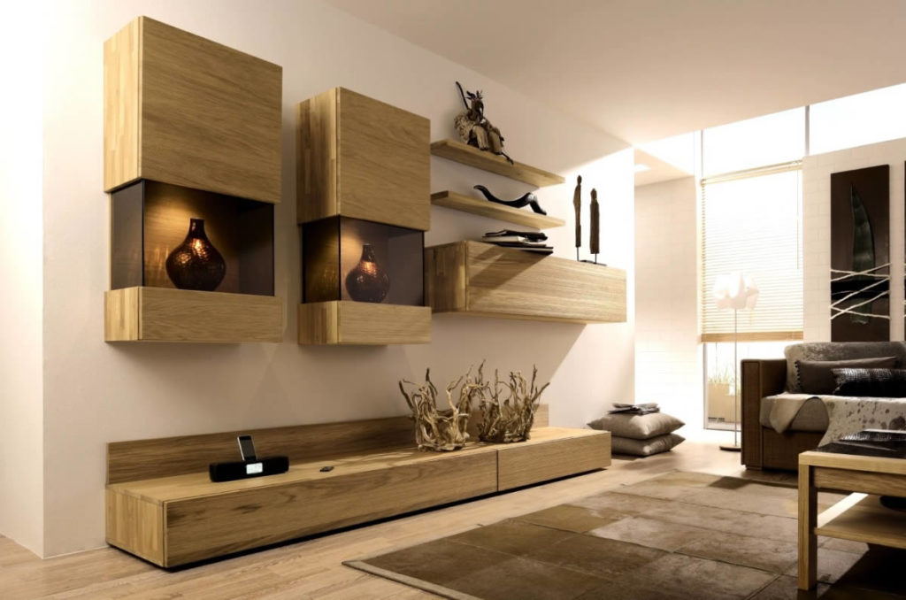Мебель для гостиной в современном стиле