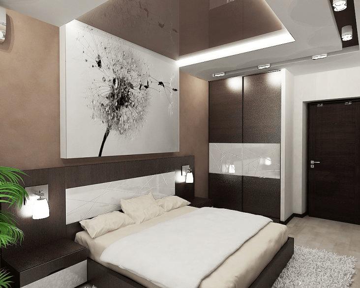 Комбинирование обоев в спальне — красивые идеи для интерьеров, советы