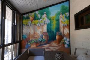 Что можно нарисовать на стене: фото лучших дизайнерских идей рисования на стенах в квартире