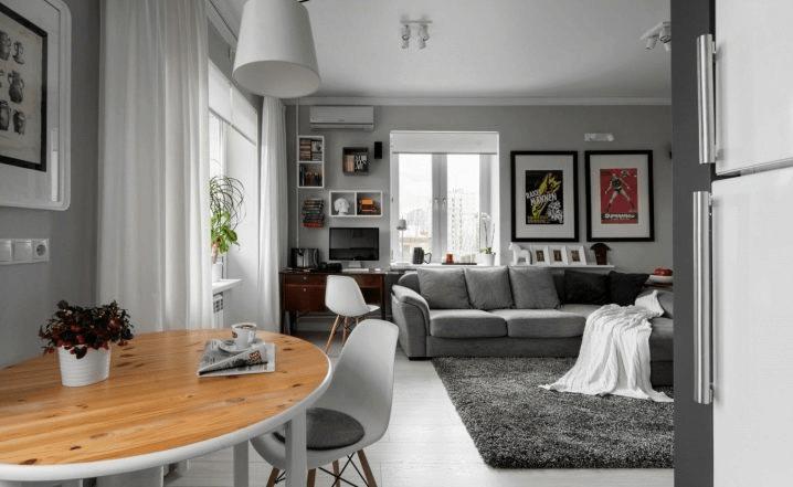 Дизайн квартиры-студии 30 кв м Лучшие планировки (проекты + фото) и советы
